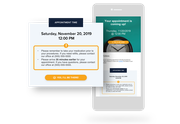 Demandforce automated appointment reminders