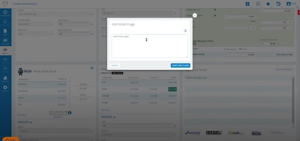 Autosoft add notes