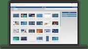 AxisTV digital signage dashboard screenshot