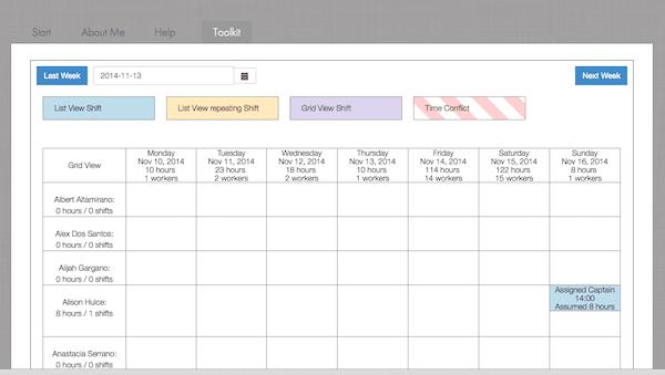 Schedulehead employee scheduling