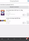 b2b.store shopping basket interface