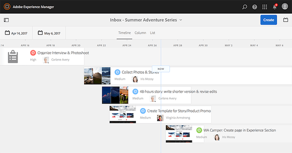 Adobe Experience Manager inbox