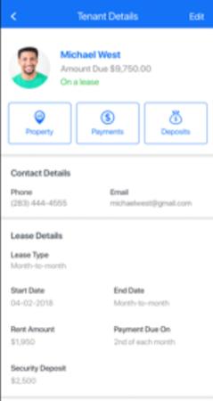 OKUPIED tenant details