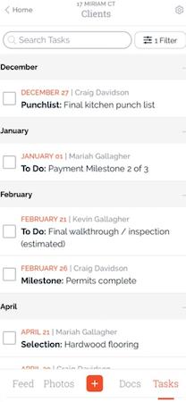 BuildBook tasks