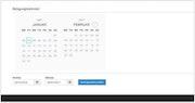 Smoobu occupancy calendar