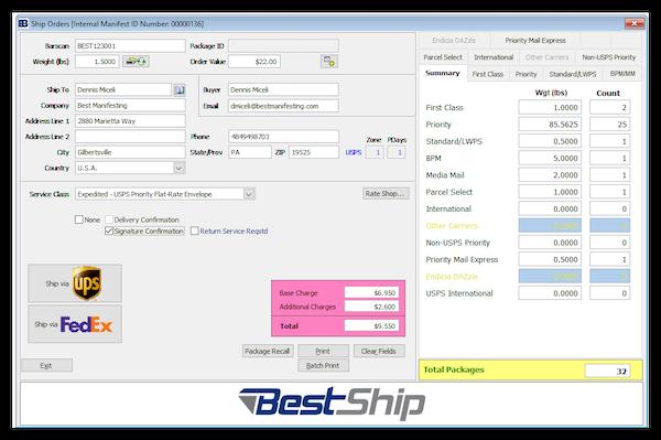Dashboard - ship screen