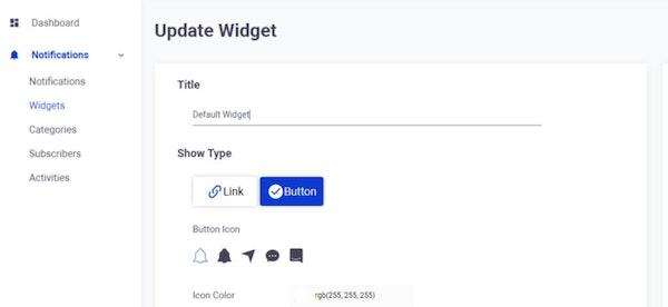 Beupify update widget