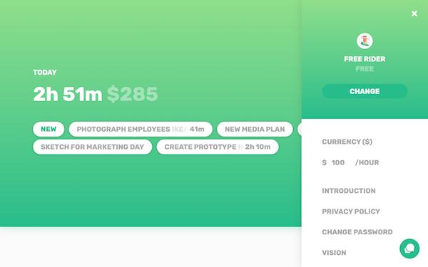 Simple order details screenshot