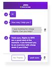 DontGo chat screenshot