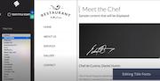 Bookmark edit website's font