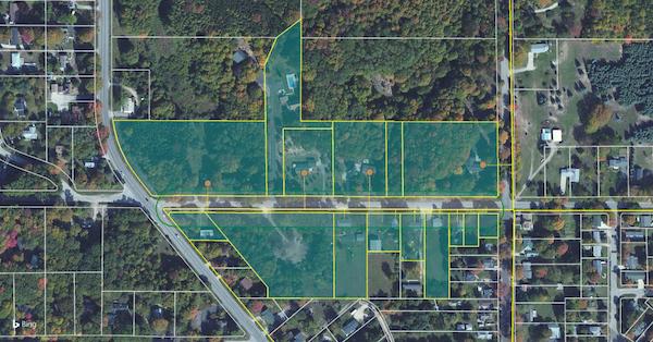 LandVision boundaries screenshot