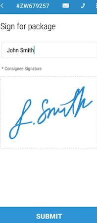 Bringg signatures