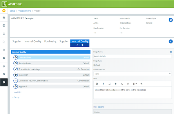 Build and configure unlimited workflows