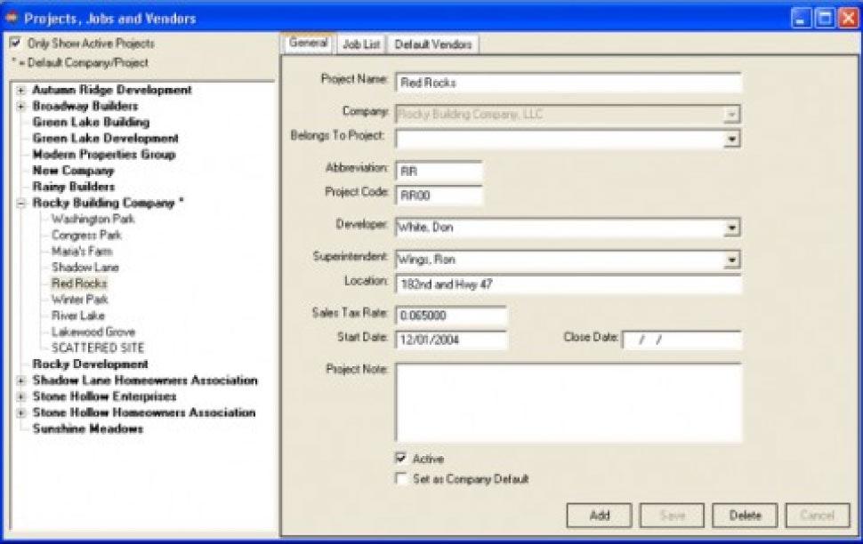 Input Screens