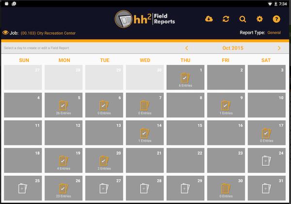 hh2 calendar
