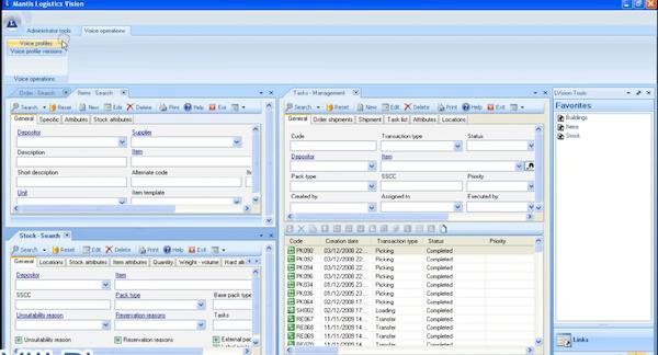 Logistics Vision Suite voice operations