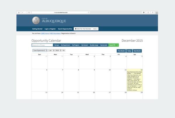 eCoordinator scheduling calendar