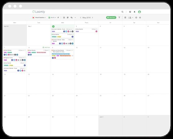 Loomly Calendar