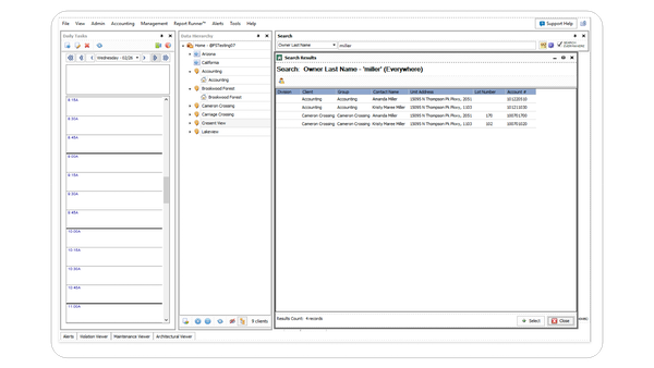 Caliber Accounting Dashboard
