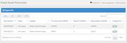 Webscreations FAMS financials screenshot