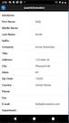 EROnline lead information screenshot