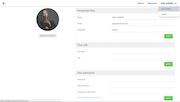 FINALCAD user profile screenshot