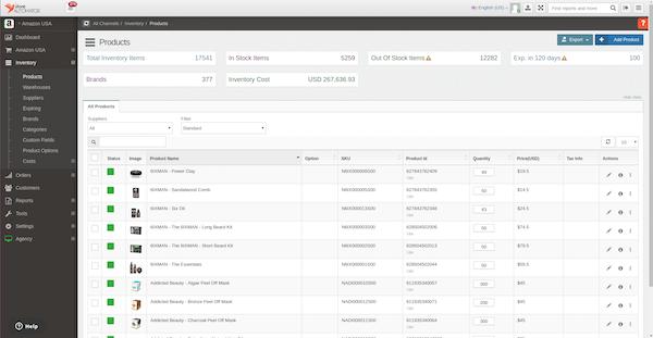 StoreAutomator catalog management