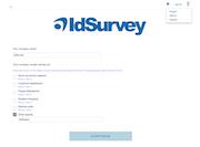 Custom survey