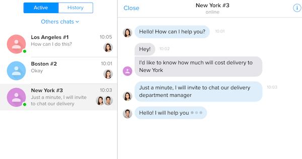 Chaport customer communication