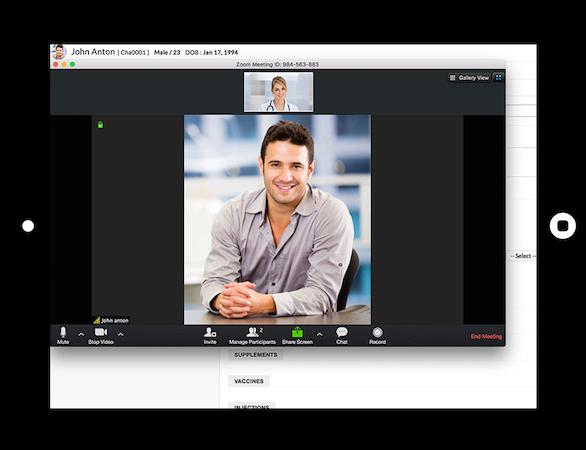 Telehealth video platform