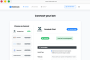 ChatCreate connect chatbots