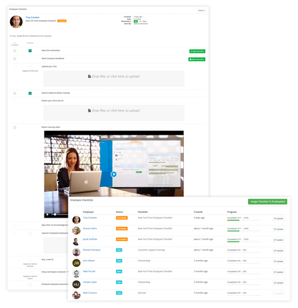 HR Partner Checklists
