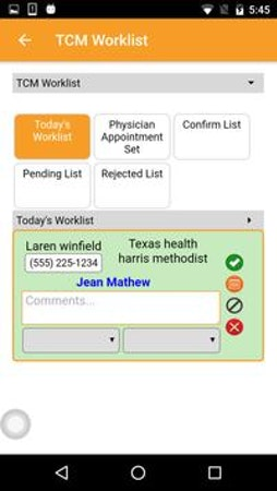 View worklists for the day