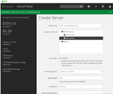 CenturyLink create server