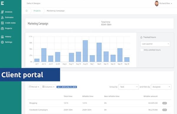 Elorus client portal