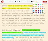 Clipicious highlighting