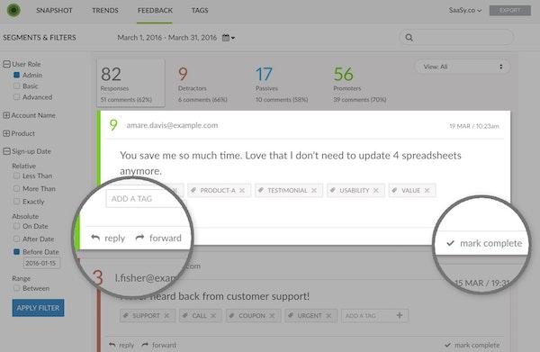 Closed-loop feedback management