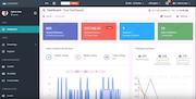Cloud MLM Software dashboard