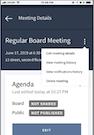 Community agenda setting