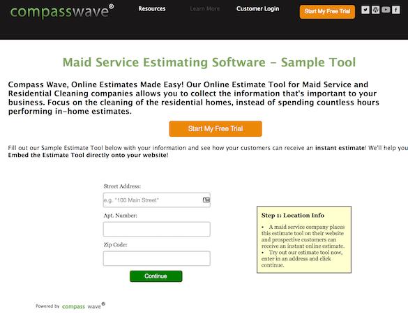 Compass Wave sample tool