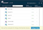 RemotePC device status