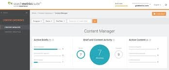 Content dashboard