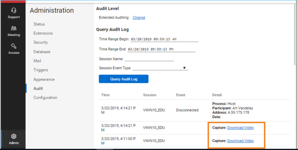 ConnectWise Control audit management
