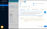 CoPilot AI desktop messaging