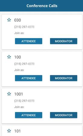 CoreNexa conference calls