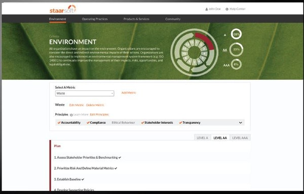 Staarsoft create environment