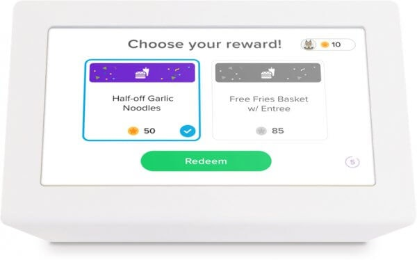 Redeem rewards