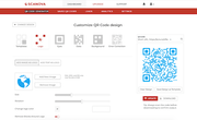 Scanova QR Code Generator logo customization