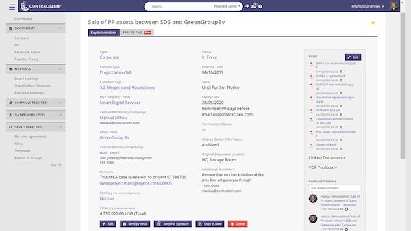 ContractZen contract metadata