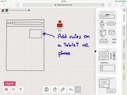 Sketchboard adding notes